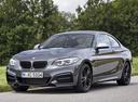 Фото авто BMW 2 серия F22/F23 [рестайлинг], ракурс: 45 цвет: серый