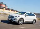 Фото авто Hyundai Santa Fe DM, ракурс: 45 цвет: белый