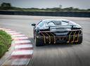 Фото авто Lamborghini Centenario 1 поколение, ракурс: 180 цвет: черный