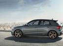 Фото авто Audi A1 2 поколение, ракурс: 90 цвет: серый