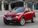 Фото авто Nissan Juke YF15, ракурс: 45 цвет: красный