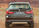 Фото авто BMW X5 F15, ракурс: 180 цвет: коричневый