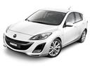 Фото авто Mazda 3 BL, ракурс: 45 - рендер цвет: белый