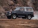 Фото авто Toyota Land Cruiser J70 [рестайлинг], ракурс: 90