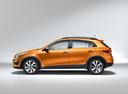 Фото авто Kia Rio 4 поколение, ракурс: 90 - рендер цвет: оранжевый
