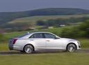 Фото авто Cadillac CTS 3 поколение, ракурс: 270 цвет: серебряный