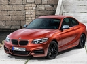 Фото авто BMW 2 серия F22/F23 [рестайлинг], ракурс: 45 цвет: оранжевый