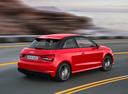 Фото авто Audi A1 8X [рестайлинг], ракурс: 225 цвет: красный