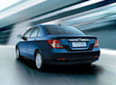 Фото авто BYD F3 1 поколение, ракурс: 180 цвет: синий