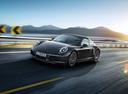 Фото авто Porsche 911 991 [рестайлинг], ракурс: 45 цвет: черный