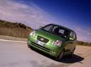 Фото авто Kia Picanto 1 поколение, ракурс: 45 цвет: зеленый