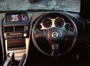 Фото авто Nissan Skyline R34, ракурс: рулевое колесо