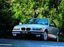 Фото авто BMW 3 серия E36, ракурс: 45 цвет: серебряный
