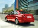 Фото авто Chevrolet Lacetti 1 поколение, ракурс: 225 цвет: красный