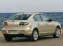 Фото авто Mazda 3 BK [рестайлинг], ракурс: 225 цвет: бежевый
