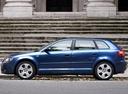 Фото авто Audi A3 8P/8PA [рестайлинг], ракурс: 90 цвет: синий