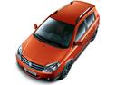 Фото авто Geely MK 1 поколение [рестайлинг], ракурс: сверху цвет: оранжевый