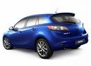 Фото авто Mazda 3 BL [рестайлинг], ракурс: 135 цвет: синий