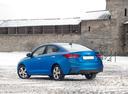 Фото авто Hyundai Solaris 2 поколение, ракурс: 135 цвет: синий
