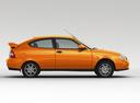 Фото авто ВАЗ (Lada) Priora 1 поколение [рестайлинг], ракурс: 270 цвет: оранжевый