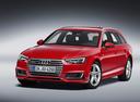 Фото авто Audi A4 B9, ракурс: 45 - рендер цвет: красный
