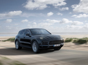 Фото авто Porsche Cayenne PO536, ракурс: 315 цвет: черный