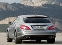 Фото авто Mercedes-Benz CLS-Класс C218/X218, ракурс: 180 цвет: серебряный