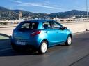 Фото авто Mazda 2 DE [рестайлинг], ракурс: 225 цвет: голубой