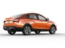 Фото авто ВАЗ (Lada) Vesta 1 поколение, ракурс: 225 - рендер цвет: оранжевый