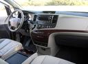 Фото авто Toyota Sienna 3 поколение, ракурс: торпедо