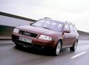 Фото авто Audi A6 4B/C5, ракурс: 45 цвет: вишневый
