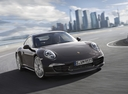 Фото авто Porsche 911 991, ракурс: 315 цвет: коричневый