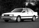 Фото авто Audi 80 8A/B3, ракурс: 45 цвет: белый