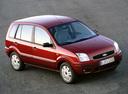 Фото авто Ford Fusion 1 поколение, ракурс: 315 цвет: красный