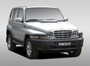 Фото авто ТагАЗ Tager 1 поколение, ракурс: 315 цвет: серебряный