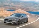 Фото авто Mercedes-Benz A-Класс W177/V177, ракурс: 45 цвет: серый