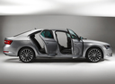 Фото авто Skoda Superb 3 поколение, ракурс: 270 - рендер цвет: серый