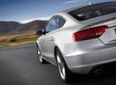 Фото авто Audi A5 8T, ракурс: задняя часть цвет: серебряный