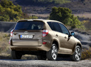 Фото авто Toyota RAV4 3 поколение [рестайлинг], ракурс: 225 цвет: бежевый