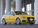 Фото авто Audi A3 8V [рестайлинг], ракурс: 315 цвет: желтый