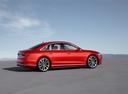 Фото авто Audi A8 D5, ракурс: 270 цвет: красный