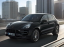 Фото авто Porsche Macan 1 поколение, ракурс: 45 цвет: черный