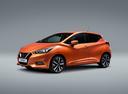 Фото авто Nissan Micra K14, ракурс: 45 цвет: оранжевый