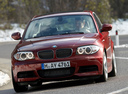 Фото авто BMW 1 серия E82/E88 [2-й рестайлинг],  цвет: красный