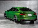 Фото авто Audi RS 5 F5, ракурс: 135 цвет: зеленый