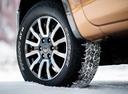 Фото авто Ford Ranger 4 поколение [2-й рестайлинг], ракурс: колесо цвет: оранжевый