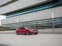 Фото авто Audi A5 2 поколение, ракурс: 315 цвет: красный