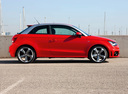 Фото авто Audi A1 8X, ракурс: 270 цвет: красный