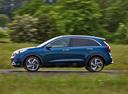 Фото авто Kia Niro DE, ракурс: 90 цвет: синий