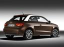 Фото авто Audi A1 8X, ракурс: 225 цвет: коричневый